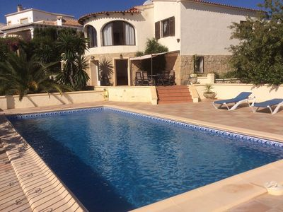 Photo for 4 Bedroom / 4 Bathroom villa with own pool and stunning views.