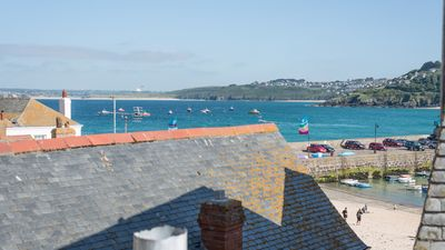 Photo for Ponckle's Place set a little back from sea front on The Wharf St Ives, sea views and free parking. Free WiFi