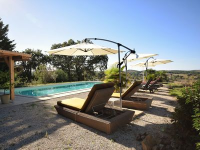 Photo for Premium Cottage in Gaujan with Swimming Pool