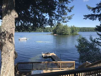 Photo for Peaceful Lakefront House on Beautiful Thompson Lake