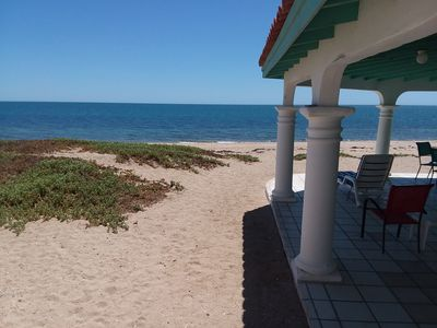 Photo for Casa Lem - Beach Front Home in Las Conchas - Quiet, peaceful and relaxing beach