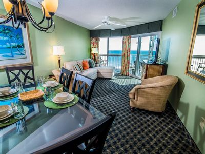 Photo for Spectacular 3 bedroom unit in Oceanfront Folly Beach SC
