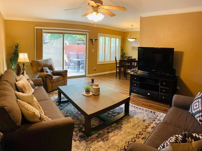 Photo for Cozy Old Town Scottsdale condo walking distance to Old Town & 20ft from the pool