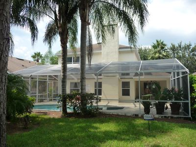 Luxury villa with south facing pool/spa, only 15 mins from Disney!