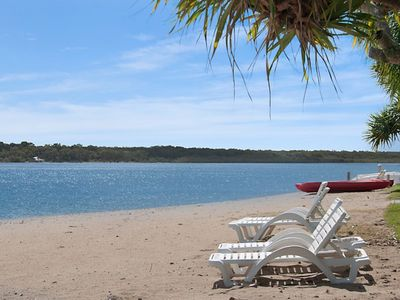 Photo for Noosa Waterfront Apartment at Culgoa Resort, Waterfront and Sunset Views