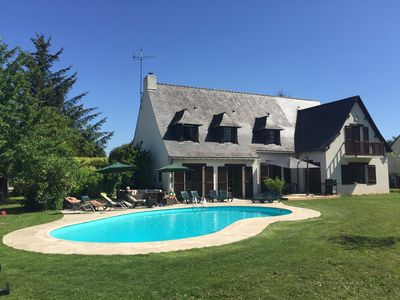 Photo for Chez Anne & Simon holiday rental with pool in South Brittany for up to 12 people
