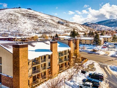 Photo for Condo mere blocks from Park City Resort with a wood fireplace!
