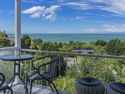 Photo for Stunning Views above the Beach