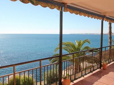 Breath taking sea views from the terrace