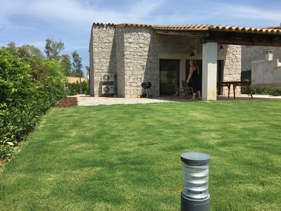 Photo for Independent villa on two levels with garden and private parking - IUNP5801