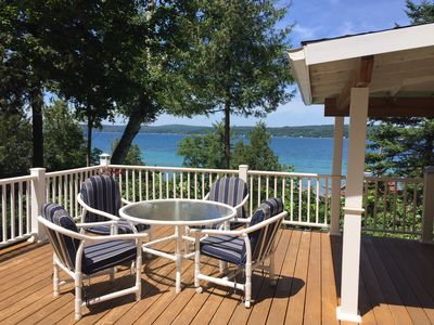 Photo for Hill Top Hideaway with Spectacular View - 1/2 block from beach and town