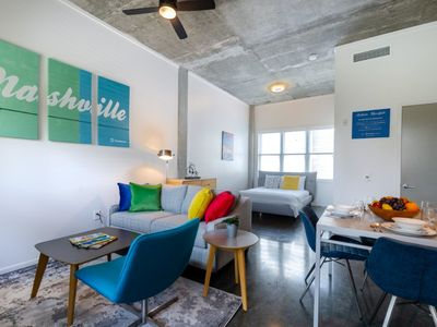 Photo for Brand New Studio Only 3 Miles from Downtown Nashville