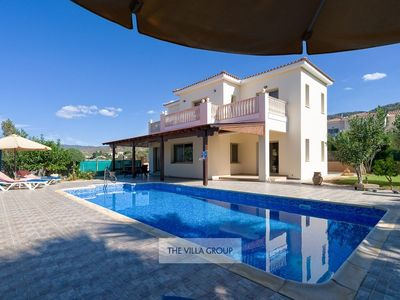 Photo for Argaka Villa, Sleeps 8 with Pool and Air Con