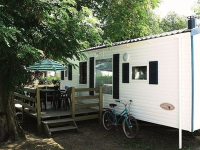 Photo for Camping Les Grosses Pierres ***** - Mobile Home PMR 3 Rooms 6 People