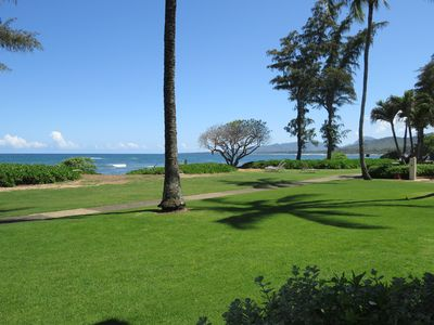 View looking right from lanai.