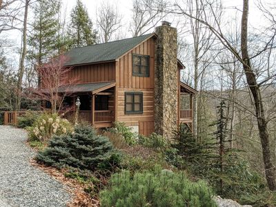 Photo for JUST ADDED Log Cabin*Central Location*Walk to Waterfall*AC
