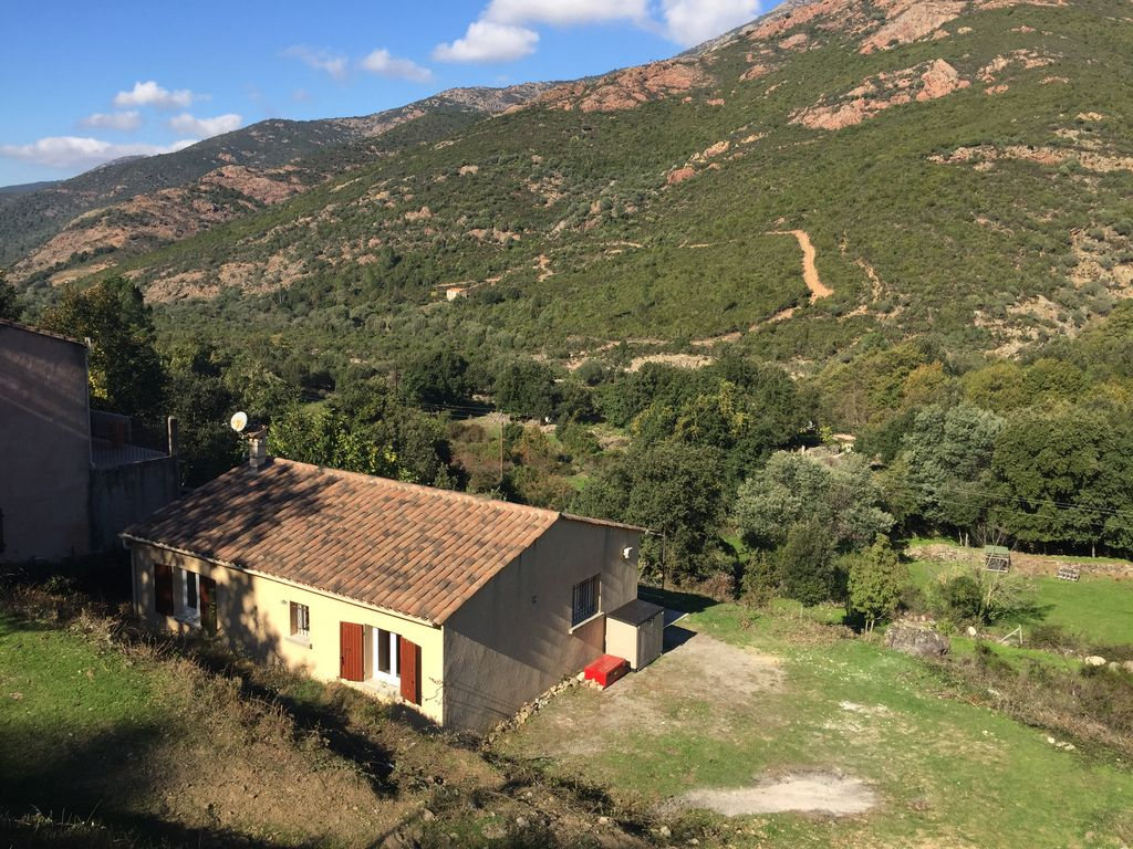 House near river Fango (Corsica) with garden for 5 people, Manso ...