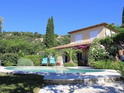 Photo for Charming Villa In Grimaud Village with Private Pool, Near St Tropez,
