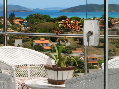 Photo for Apartment in Búzios with Sea View - Loft with Mezzanine