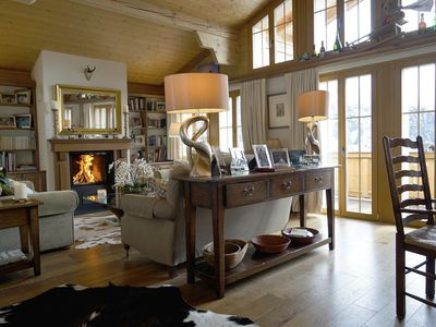 Photo for Magnificent Luxury Ski Chalet in Murren  - 5 star rating