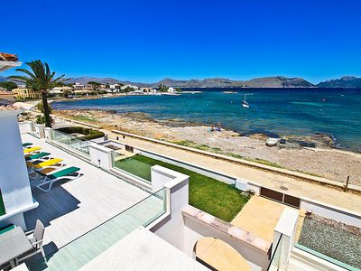 Photo for 5 bedroom Villa, sleeps 10 in Alcúdia with Air Con and WiFi