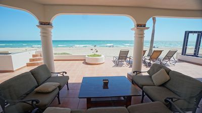 Photo for A custom 4BR/4BA home plus 1BR/1BA guest house just steps from the sand & sea.