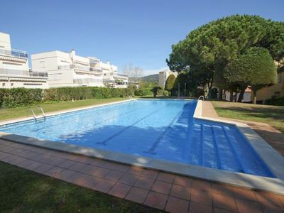Photo for Club Villamar - Nice apartment with terrace, wifi with communal swimming pool and walking to the ...