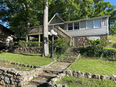 Photo for Waterfront 3 bedroom home with private dock