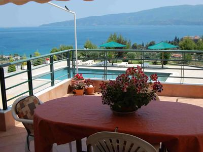 Photo for Villa Annabelle with swimming pool and beautiful sea view