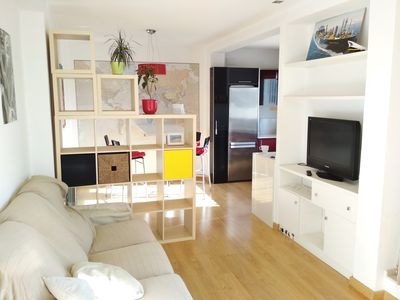 Photo for Modern apartment with huge terrace near the beach
