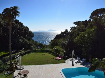 "Photo for ""CAPRI AND SORRENTO PANORAMA"" Apartment with Pool and Garden very well furnished"