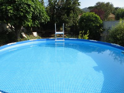 Photo for Provencal house between Cassis, Aubagne and Aix av garden, pool and pool