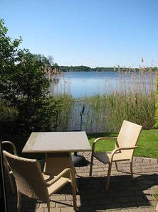 Photo for Idyllic holiday home in Timmendorf on lake property with private lake access