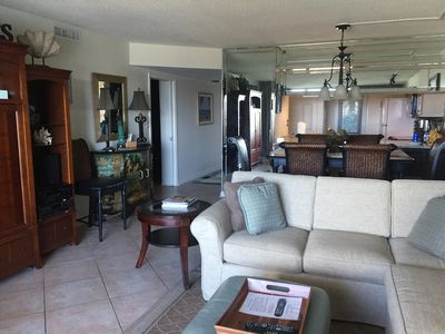 Photo for 2BR Beach Front Condo- Ground Floor Unit!
