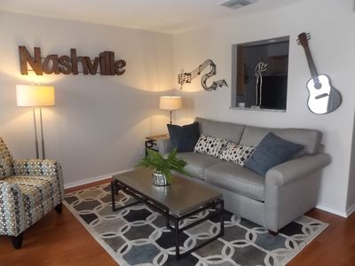 Photo for PRIME DOWNTOWN Riverfront Condo Near BROADWAY Action !!