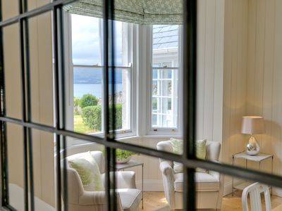 Photo for Stunning seaviews, luxury house within walking distance of Penmon Lighthouse.