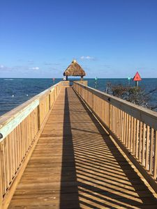 Step out into the ocean with a walk to our gazebo.