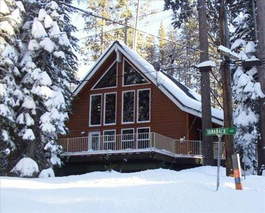 Photo for WE have SNOW! Come up for winter fun - SIERRA AT TAHOE is our neighbor