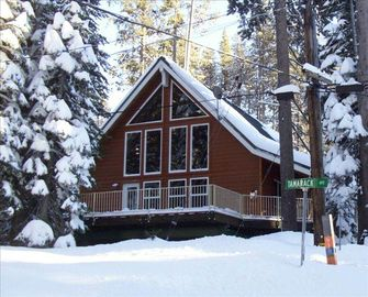 WE have SNOW! Come up for winter fun - SIERRA AT TAHOE is our neighbor