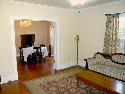 Parlor with view of Dining Room