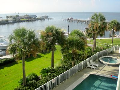 Photo for Bayfront Fort Morgan Navy Cove Harbor Condo 1203 with Boat Slip