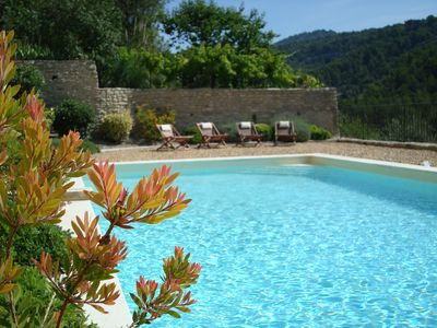 Photo for Holiday Cottage with Pool & Fabulous Views