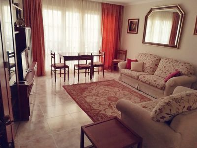 Photo for Central, spacious and comfortable apartment very well located