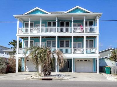 Photo for Palm's Up: 5 BR / 4 BA duplex - 1 side in Kure Beach, Sleeps 14