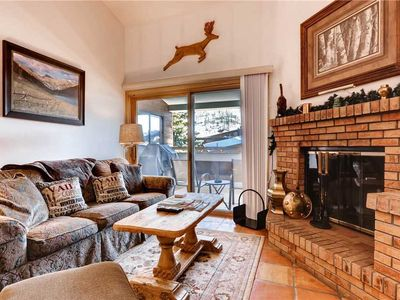 Photo for Value Vail Getaway Condo with Loft, Mountain Views, steps to Free Vail Shuttle | Snowfox 302