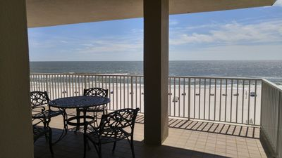 Photo for 3BR, 3BA, Gulf Front, End Unit, Wrap around Balcony, 4th flr