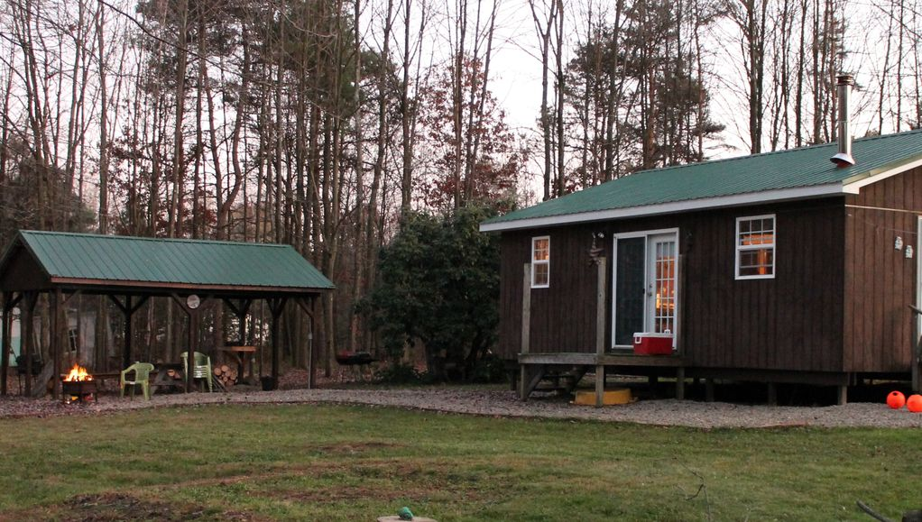 Cozy cabin in the western part of the pa wilds the for Cozy cabins pa