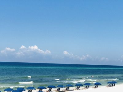Photo for Steps to the beach, Private Gulf Front Community! Beautifully Decorated!