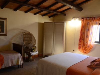 Photo for Agriturismo Il Poderino - Margherita room - (three places) 30 Km from Volterra