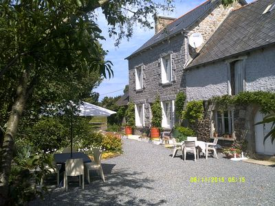 Photo for Family home in country with pool, lovely private gardens. Sleeps 8